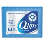 Q-tips Cotton Swabs, 30 Cotton Swabs/Pack, 36 Packs (UNI22127)