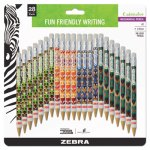Zebra Cadoozles Mechanical Pencil, Assorted Barrels, 28 per Pack (ZEB51291)