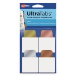 avery-ultra-repositionable-tabs-1-x-15-asst-metallic-40-tabs-ave74785