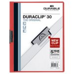 durable-vinyl-duraclip-report-cover-w-clip-letter-clear-red-25-box-dbl220303