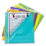 "C-line 5-Tab Index Dividers with Vertical Tab, 5-Tab, 11 1/2"" x 10"" (CLI07150)"