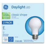 Ge LED Classic Daylight A21 Light Bulb, 10W, 2/Pack (GEL31181)