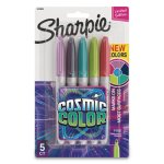 sharpie-cosmic-color-permanent-markers-bullet-tip-asst-5-markers-san2010953