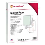 Docugard DocuGard Security Paper, 8-1/2 x 11, Green, 500/Ream (PRB04542)
