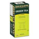 Bigelow Green Tea with Lemon Flavored, 28 Tea Bags (BTC10346)