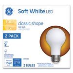 Ge Classic LED Soft White Non-Dim A21, 13W, 2/Pack (GEL31185)