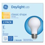 Ge LED Classic Daylight A21 Light Bulb, 13W, 2/Pack (GEL31186)