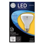 GE LED BR30 Dimmable Soft White Flood Light Bulb, 10W, Each (GEL40893)