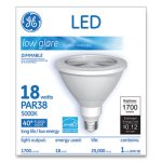 Ge LED PAR38 Dimmable 40 DG Daylight Flood Light Bulb, 5000K, 18W (GEL65731)