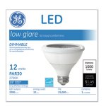 Ge LED PAR30 Dimmable Warm White Flood Light Bulb, 3000K, 12W (GEL84379)