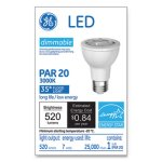Ge LED PAR20 Dimmable Warm White Flood Light Bulb, 3000K, 7W (GEL93348)
