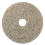 "Americo Burnishing Pads, 27"" Diameter, Grayish Black, 2 Pads (AMF401827)"