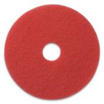 americo-light-duty-buffing-pads-17-diameter-red-5-pads-amf404417
