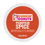 Dunkin Donuts K-Cup Pods, Pumpkin Spice, 24/Box (GMT7596)