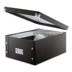 Snap-n-store CD Storage Box, Holds 120 Slim/60 Std. Cases (IDESNS01658)