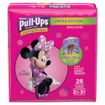 Huggies Pull-Ups Potty Training Pants for Girls, Size 2T-3T, 25/Pack (KCC45132)