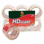 duck-heavy-duty-carton-packaging-tape-3-x-55-yards-clear-6pack-duc0007496