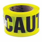 "Great Neck Caution Safety Tape, Non-Adhesive, 3"" x 1000' (GNS10379)"