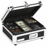 vaultz-plastic-steel-cash-box-w-tumbler-lock-black-chrome-idevz01002