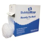 "Sealed Air Bubble Wrap® Cushion Bubble Roll, 1/2"" Thick, 12"" x 65ft (SEL90065)"