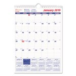 brownline-one-month-per-page-twin-wall-calendar-8-x-11-2020-redc171101