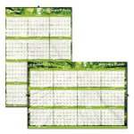 blueline-yearly-laminated-wall-calendar-36-x-24-green-2020-redc171910