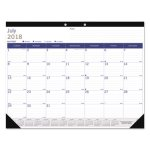 blueline-academic-desk-pad-calendar-white-blue-gray-2019-2020-redca177227
