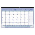 Brownline Monthly Desk Pad Calendar, 17-3/4 x 10-7/8, 2020 (REDC181700)