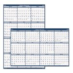 doolittle-laminated-reversible-wipe-off-wall-calendar-66-x-33-2019-hod3962