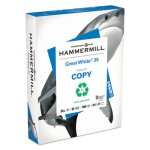 Hammermill Great White 30 Copy Paper, 8-1/2 x 11, 5,000 Sheets (HAM86700)