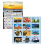At-A-Glance Scenic Monthly Wall Calendar, 12 x 17, 2020 (AAGDMW20028)