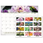 At-A-Glance Floral Panoramic Desk Pad, 22 x 17, Floral, 2020 (AAG89805)