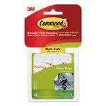 Command Poster Strips Value Pack, White, 48/Pack (MMM1702448ES)