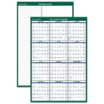 At-A-Glance Vertical Erasable Wall Planner, 24 x 36, 2020 (AAGPM21028)