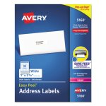 "Avery 5160 Easy Peel White Address Labels, 1"" x 2-5/8"", 3,000 Labels (AVE5160)"