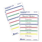 Avery File Folder Labels, White with Assorted Bars, 252 Labels (AVE05215)