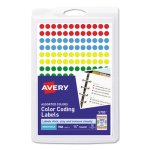 Avery Removable Color-Coding Labels, Assorted, 768 Labels (AVE05795)