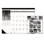 house-of-doolittle-photo-monthly-desk-pad-calendar-22-x-17-2018-2019-hod122