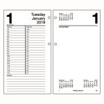 "At-A-Glance ""Large Desk Calendar Refill, 4 1/2"" x 8"", 2020 (AAGE21050)"