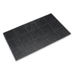 "Crown Heavy-Duty Anti-Fatigue Mat, Grease-Proof, 36""x60"", Black (CWNWSTF35BK)"