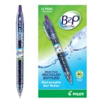 pilot-b2p-gel-rolling-ball-retractable-purple-ink-07-mm-dozen-pil31622
