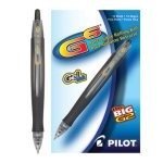 pilot-g6-gel-roller-ball-retractable-pen-black-ink-12-pens-pil31401