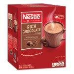 Nestle Instant Hot Cocoa Mix, Rich Chocolate, 71/100 oz, 50/Box (NES25485)