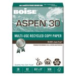 ASPEN Recycled Multi-Use Paper, 8-1/2 x 11, 5000 Sheets (CAS054901)