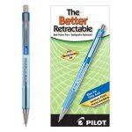 Pilot Better Ballpoint Retractable Pen, Blue Ink,Medium, Dozen (PIL30006)