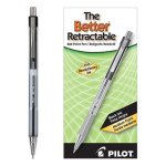 Pilot Better Ballpoint Retractable Pen, Black Ink, Medium, Dozen (PIL30005)