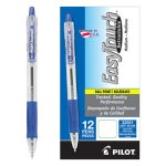 Pilot EasyTouch Ballpoint Retractable Pen, Blue Ink, Medium, Dozen (PIL32221)