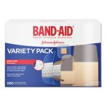 Band-aid Sheer/Wet Adhesive Bandages, Assorted Sizes, 280/Box (JOJ4711)
