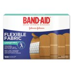 Band-Aid Flexible Fabric Adhesive Bandages, 1 x 3, 100 Bandages (JOJ4444)