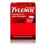 Tylenol Extra-Strength Caplets, 50 Two-Packs (MCL44910)